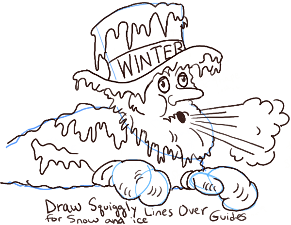 600x464 How To Draw Old Man Winter