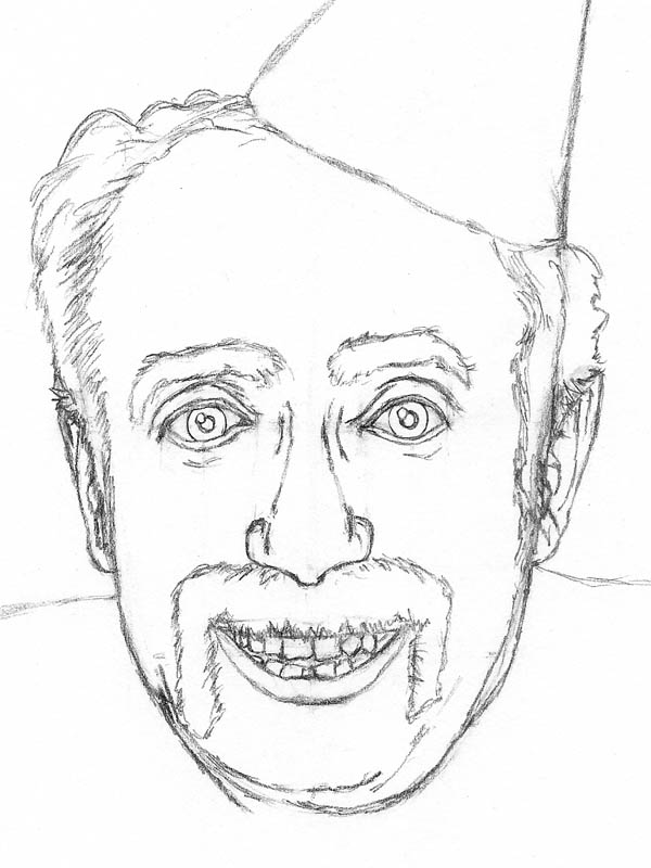 600x800 Old Man Face Drawing Simple