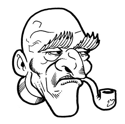 400x397 Old Man Draw