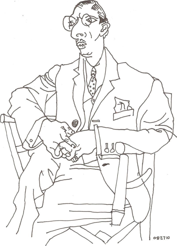 800x1112 Artwork Analysis Contour Line Drawing