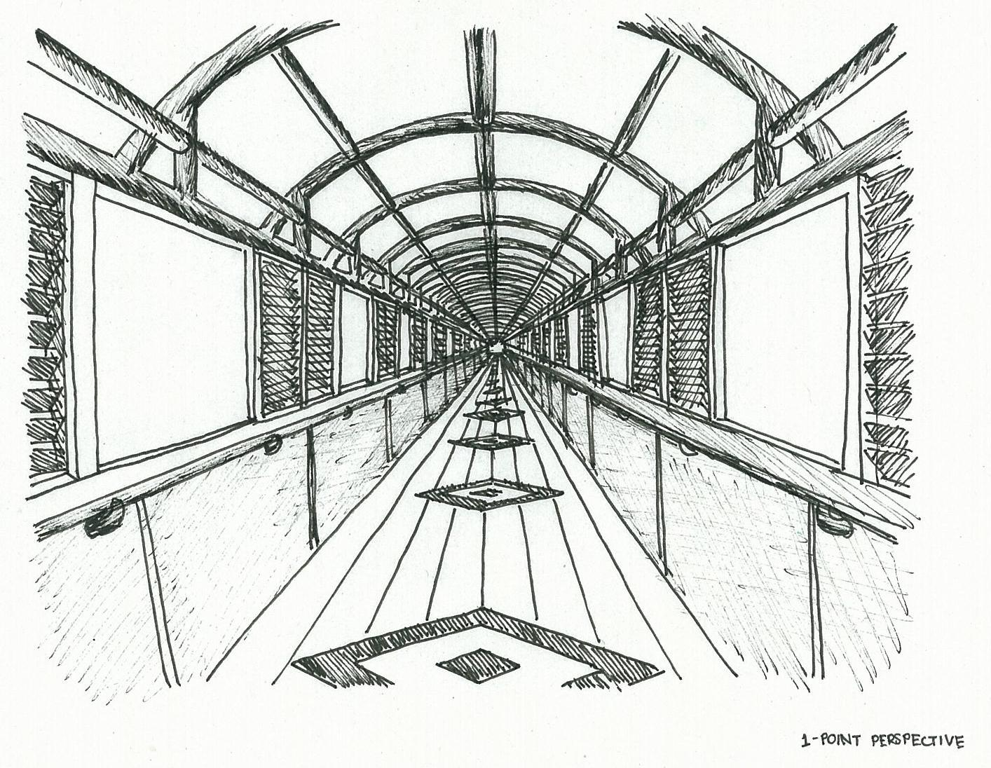 Simple One Point Perspective Drawing at GetDrawings.com ...Easy One Point Perspective Drawing