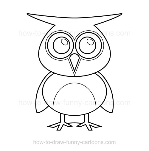 simple owl drawing at getdrawings com free for personal use simple