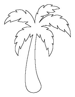 263x340 Palm Tree Coloring Pages Palm Tree Coloring Pages 7 Com.gif