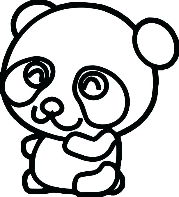 615x676 Bear Coloring Pages Cute Panda Coloring Pages Panda Bear Panda