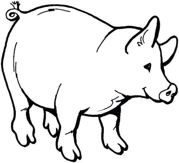 700x638 Coloring Book Pig Together With Drawing Pig Coloring Book