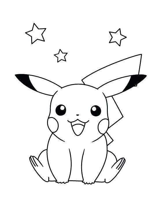 564x728 This Is Pikachu Coloring Pages Pictures X Pokemon Pikachu Coloring