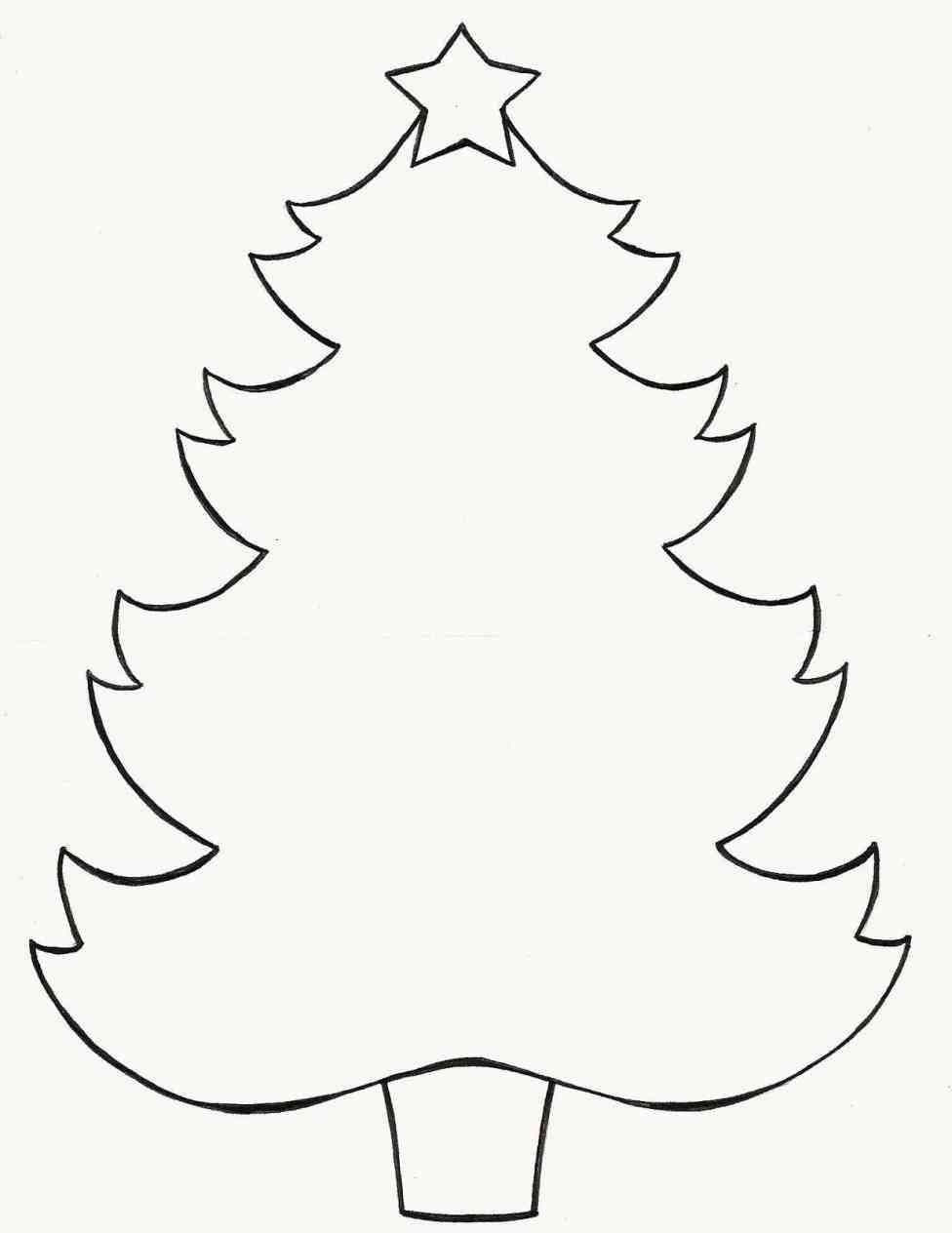 976x1264 Step 5 How To Draw Christmas Trees Step By Step Drawing Lesson