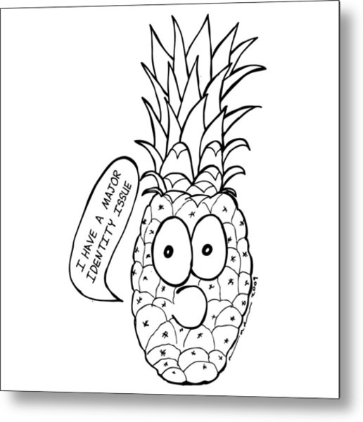 516x600 Pineapple Issue Drawing By Karl Addison