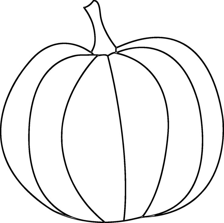 736x731 Here's A Pumpkin Digital Stamp For Fall And Thanksgiving Projects