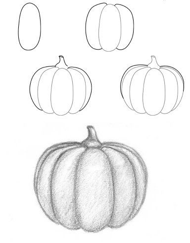 384x490 Learn To Draw For Kids. Halloween Pumpkin Drawing Tutorial How