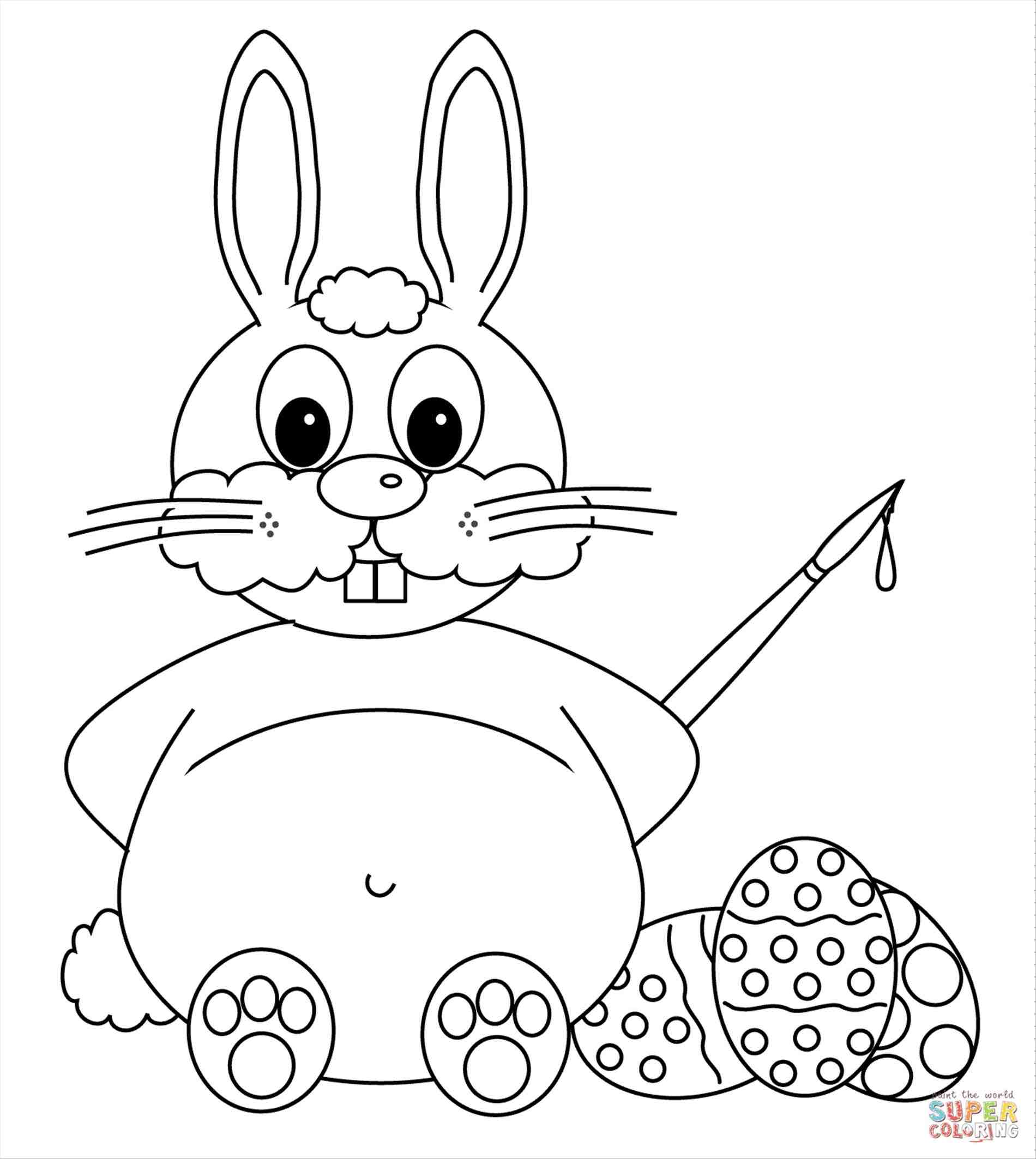 1900x2126 Image Titled Draw The Easter Bunny Step 15. A How To Draw