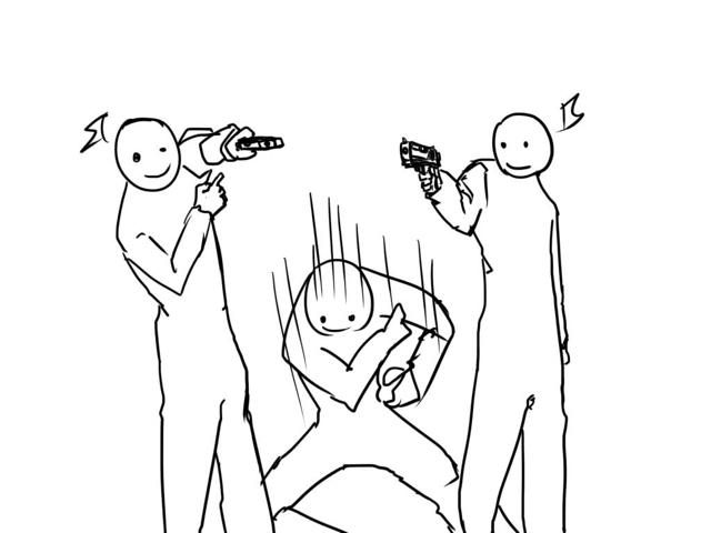 640x480 Guns And Close Combat Explained With Simple Drawings Kotaku