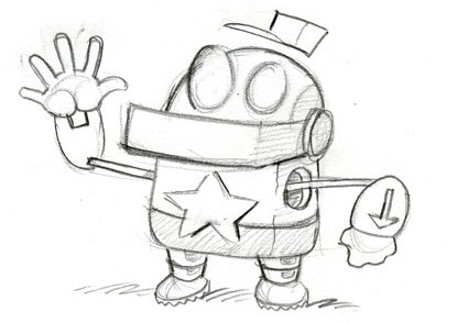 Simple Robot Drawing
