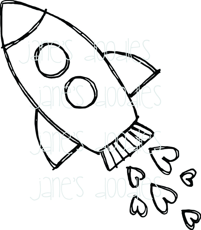 850x969 Coloring Pages Rocket Ship