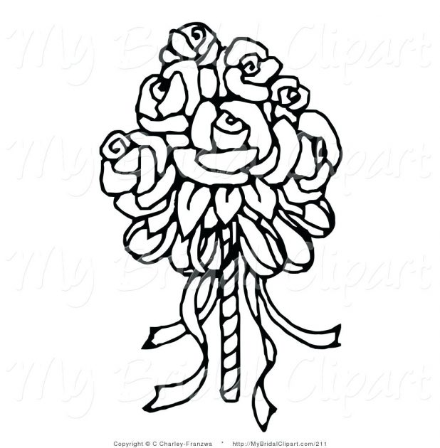 618x630 Easy Flower Drawing Outline Images Simple Rose Vine Drawings How