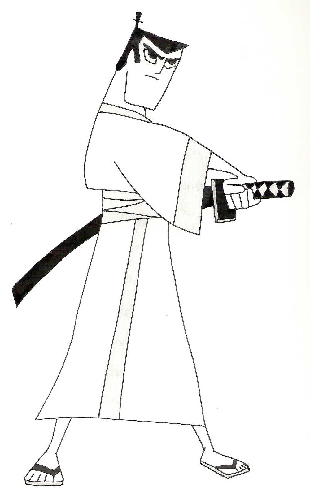 Simple Samurai Drawing at GetDrawings.com | Free for personal use ...