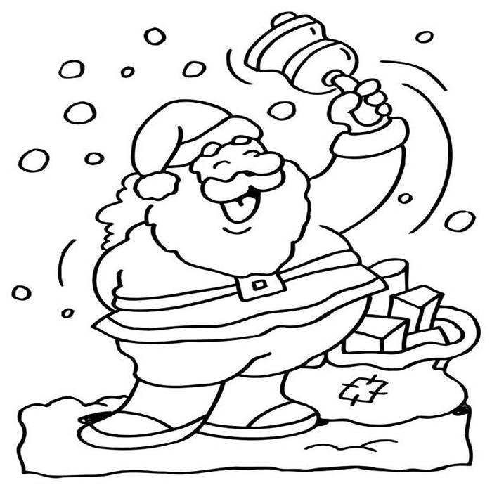 Simple Santa Drawing