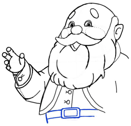 450x431 How To Draw Santa Clause In 10 Easy Steps Christmas Drawing