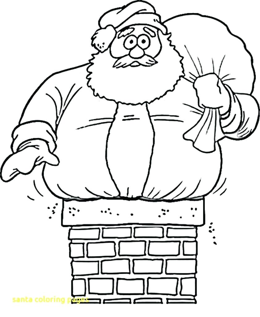 841x1024 Coloring Santa Coloring Pages For Kids