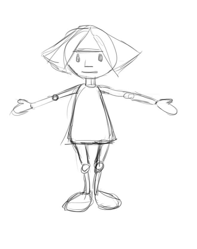 660x831 Creating A Character Using Simple Shapes The Story Elves