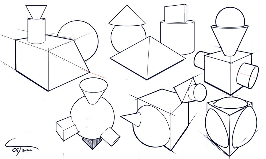 900x540 Day 5 5 Simple Shapes (Sketch Blog) By Complxdesign