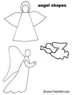 236x305 Drawn Angel Simple