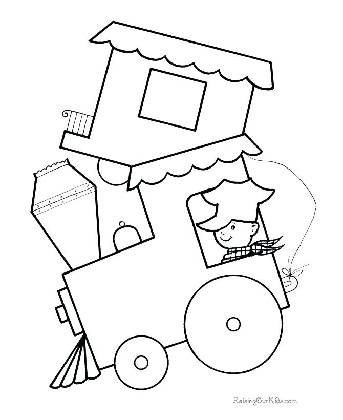 670x820 Elegant Simple Shapes Coloring Pages And Basic Shapes Coloring