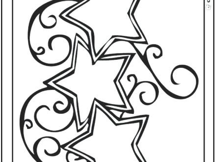 440x330 Shape Coloring Page Pages Of Simple Shapes Images Common