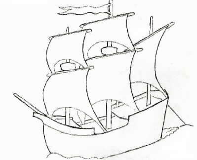 simple ship drawing at getdrawings com free for personal use