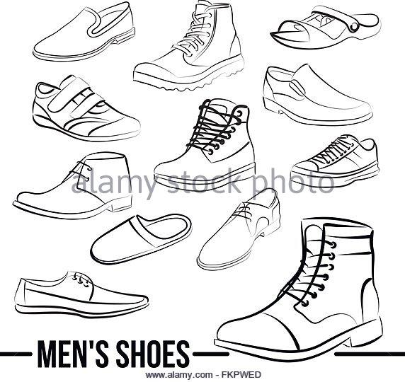 572x540 Men Sneakers Icon Simple Style Stock Photos Amp Men Sneakers Icon