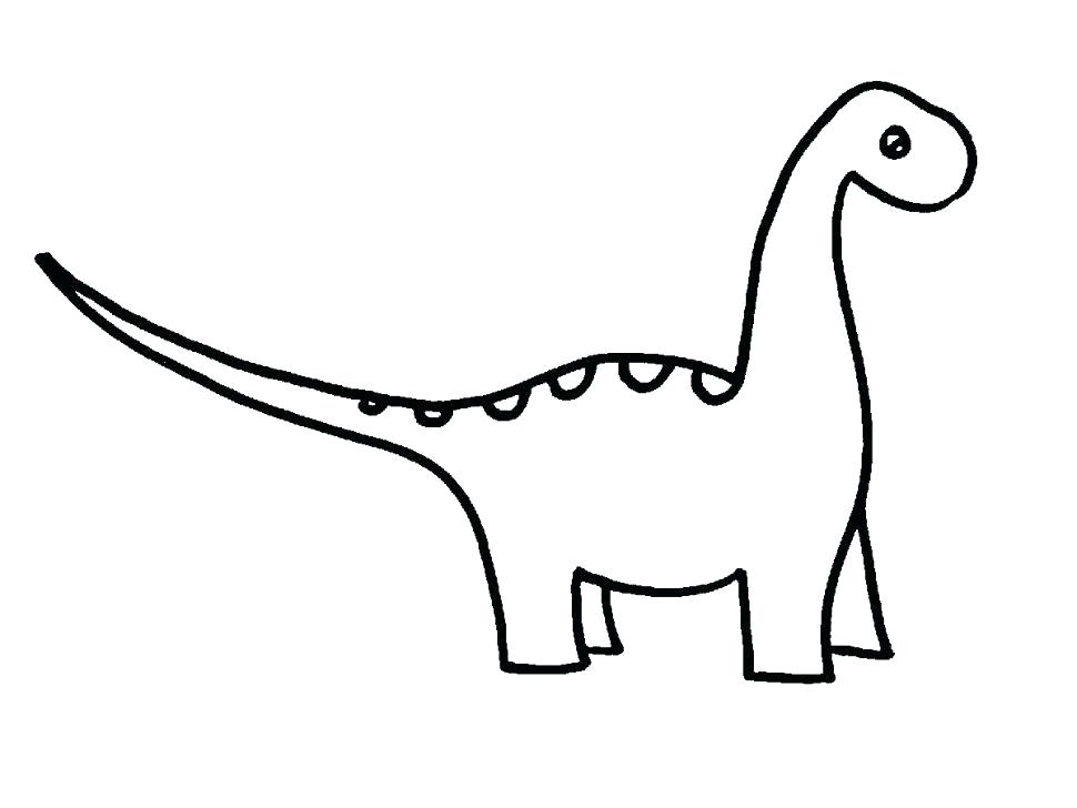 970x728 Easy To Draw Dinosaur Draw Dinosaur Draw Simple Easy Dinosaur Affan