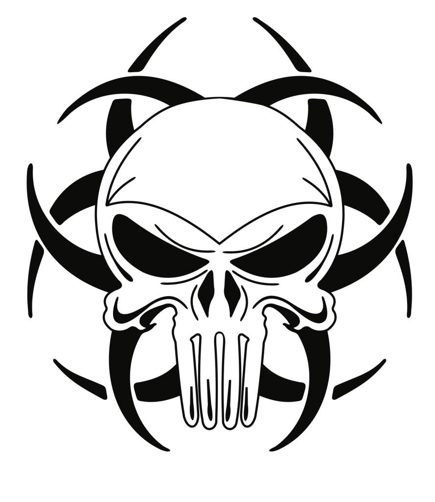 889x1024 Easy Skull Drawings Simple Skull Clipart Clipart Kid