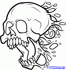 218x232 Image Result For Simple Skull Drawings Obsessed