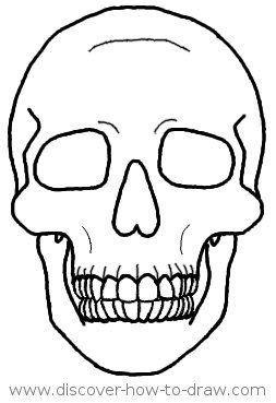 253x369 Pictures How To Draw A Skull Face,