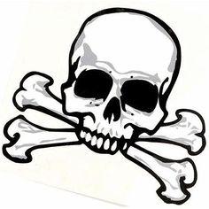 236x236 Skull Drawing Art Simple Line