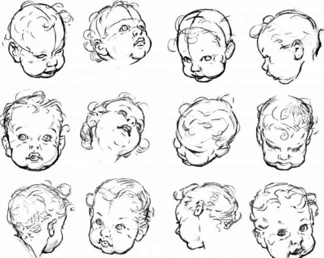 Skeleton Face Drawing For Kids