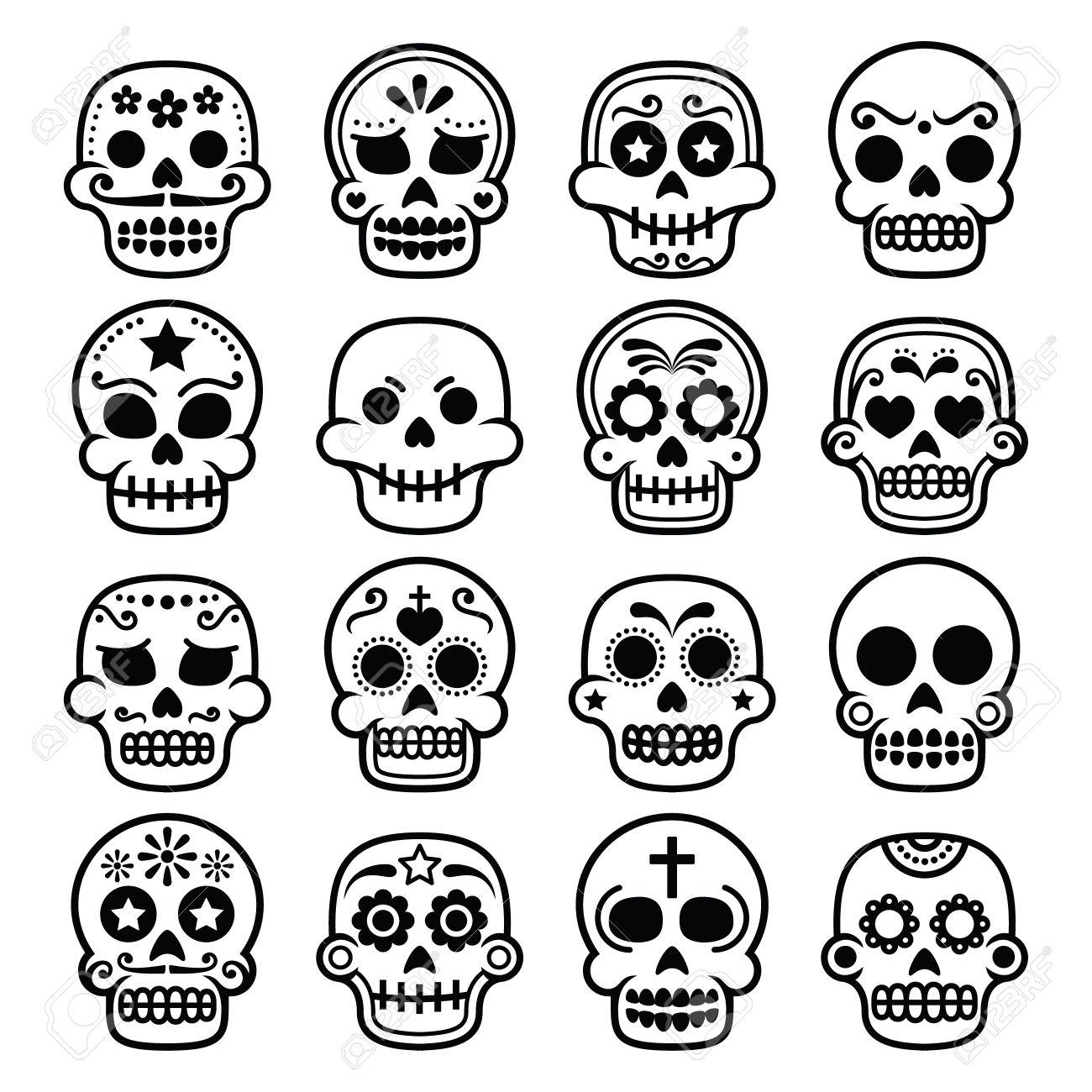 1300x1300 Sugar Skull Halloween Drawings Halloween Amp Holidays Wizard
