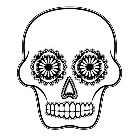 450x449 How To Create A Detailed Vector Sugar Skull Illustration Sugar