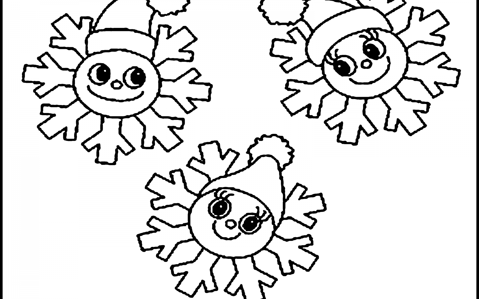 1680x1050 Printable Snowflake Coloring Pages For Kids Unique Free