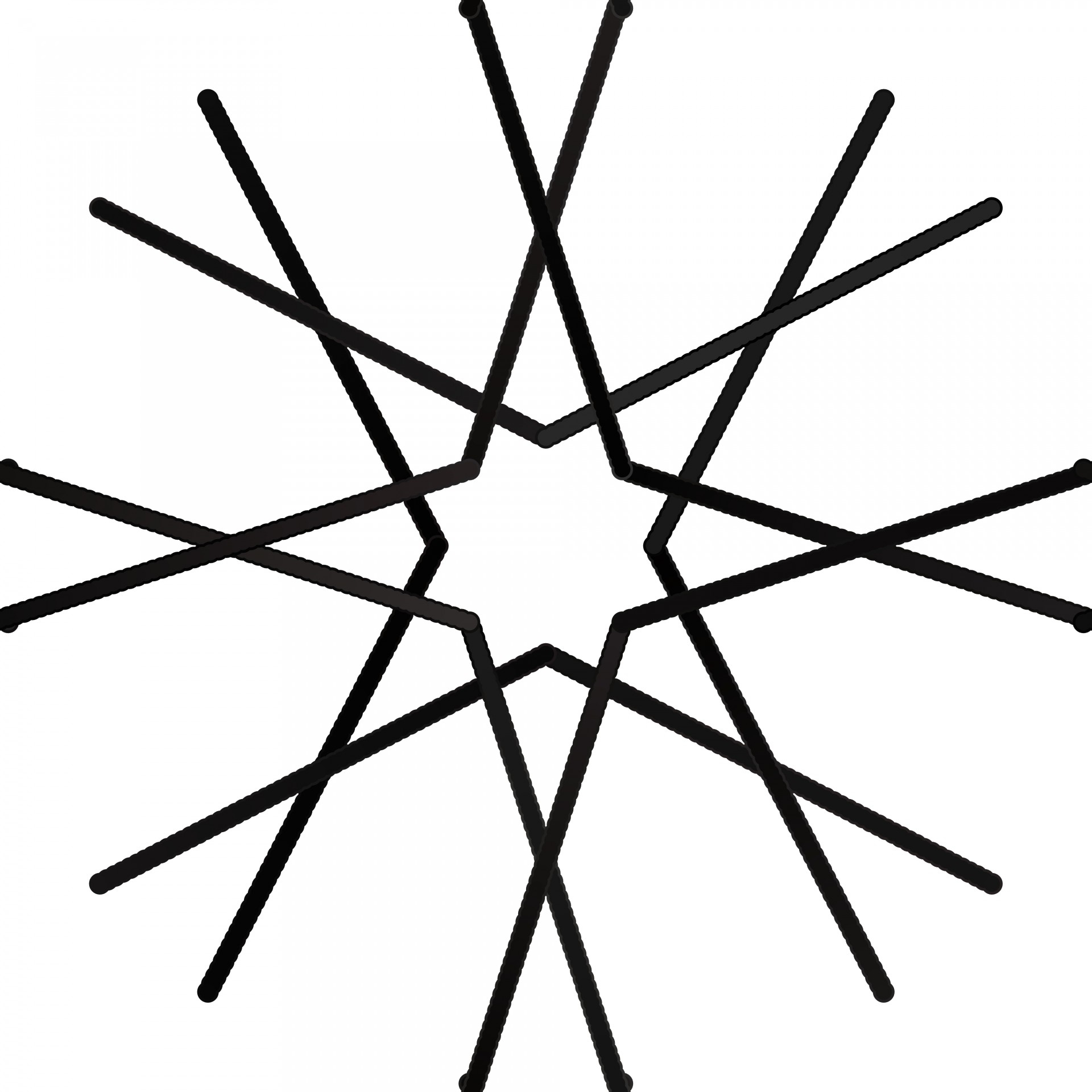 1920x1920 Simple Drawing Of A Snowflake Simple Snowflake Free Stock Photo