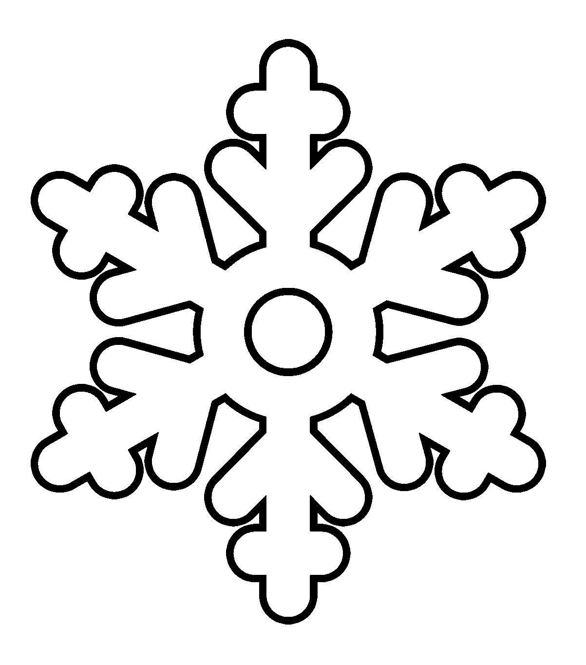 1203x1365 Simple Snowflake Coloring Pages Simple Colorings