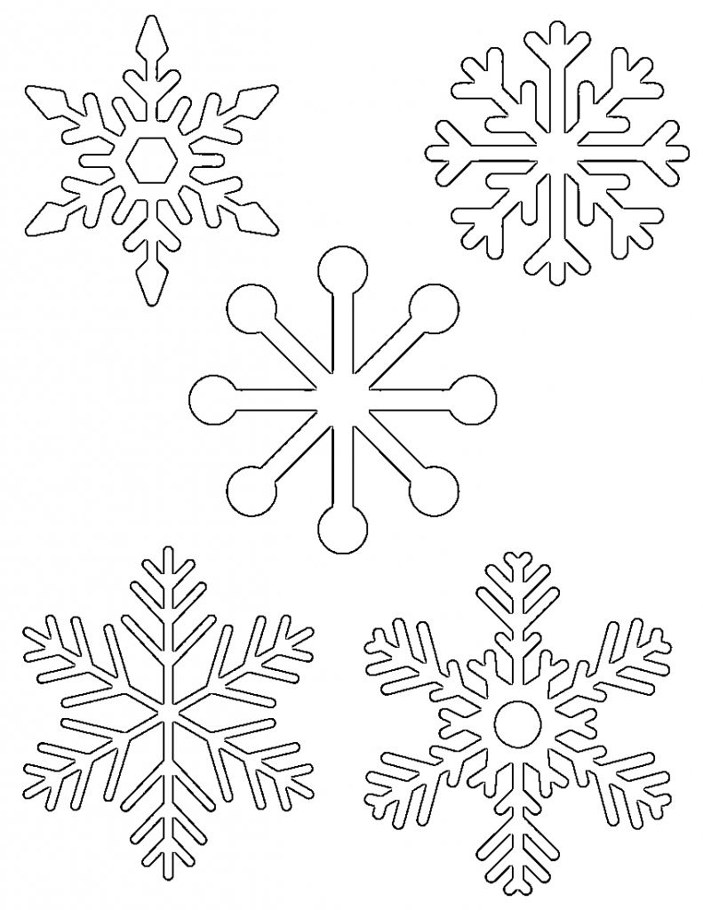 791x1024 Snowflake Drawing Easy How To Draw A Snowflake Easy