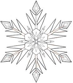 236x269 The Best Snowflake Drawing Easy Ideas On Easy