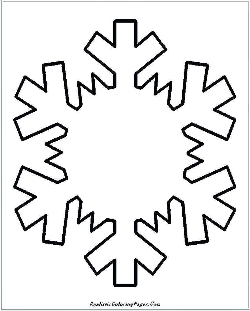 Simple Snowflake Drawing at GetDrawings.com | Free for personal use ...