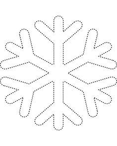 236x295 printable christmas snowflakes