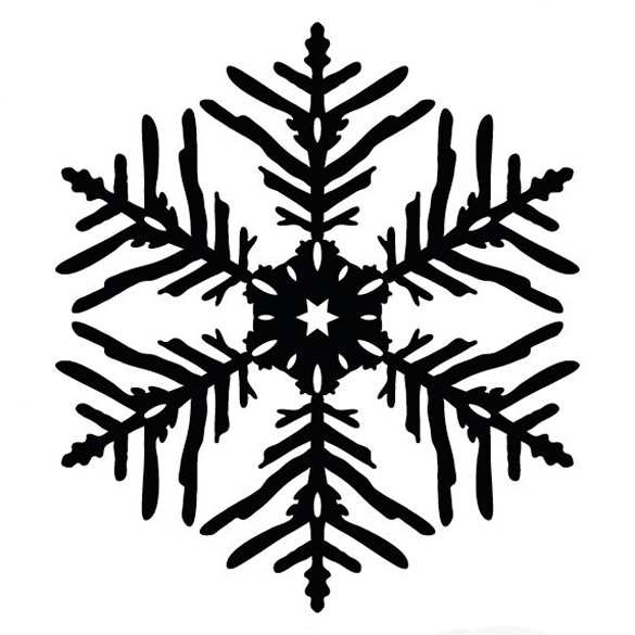 585x585 How To Design A Beautiful, Symmetrical Snowflake In Illustrator