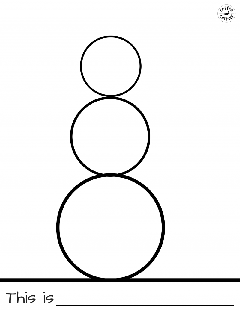 800x1035 Fun And Simple Snowman Project With Free Printables