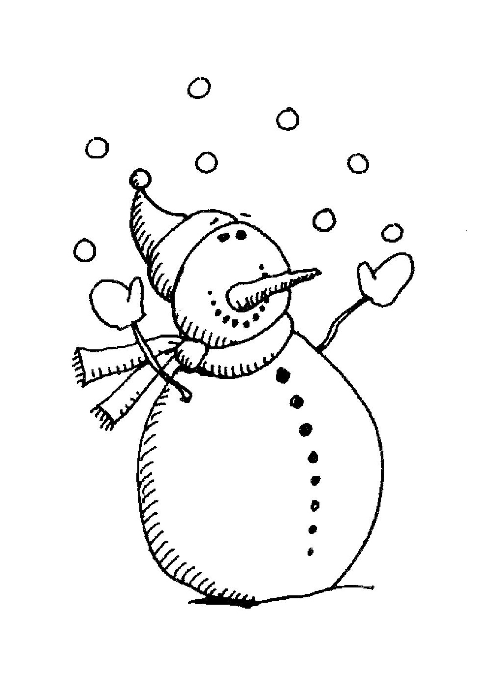 1020x1378 Snowman Drawings D.i.y. Snowman
