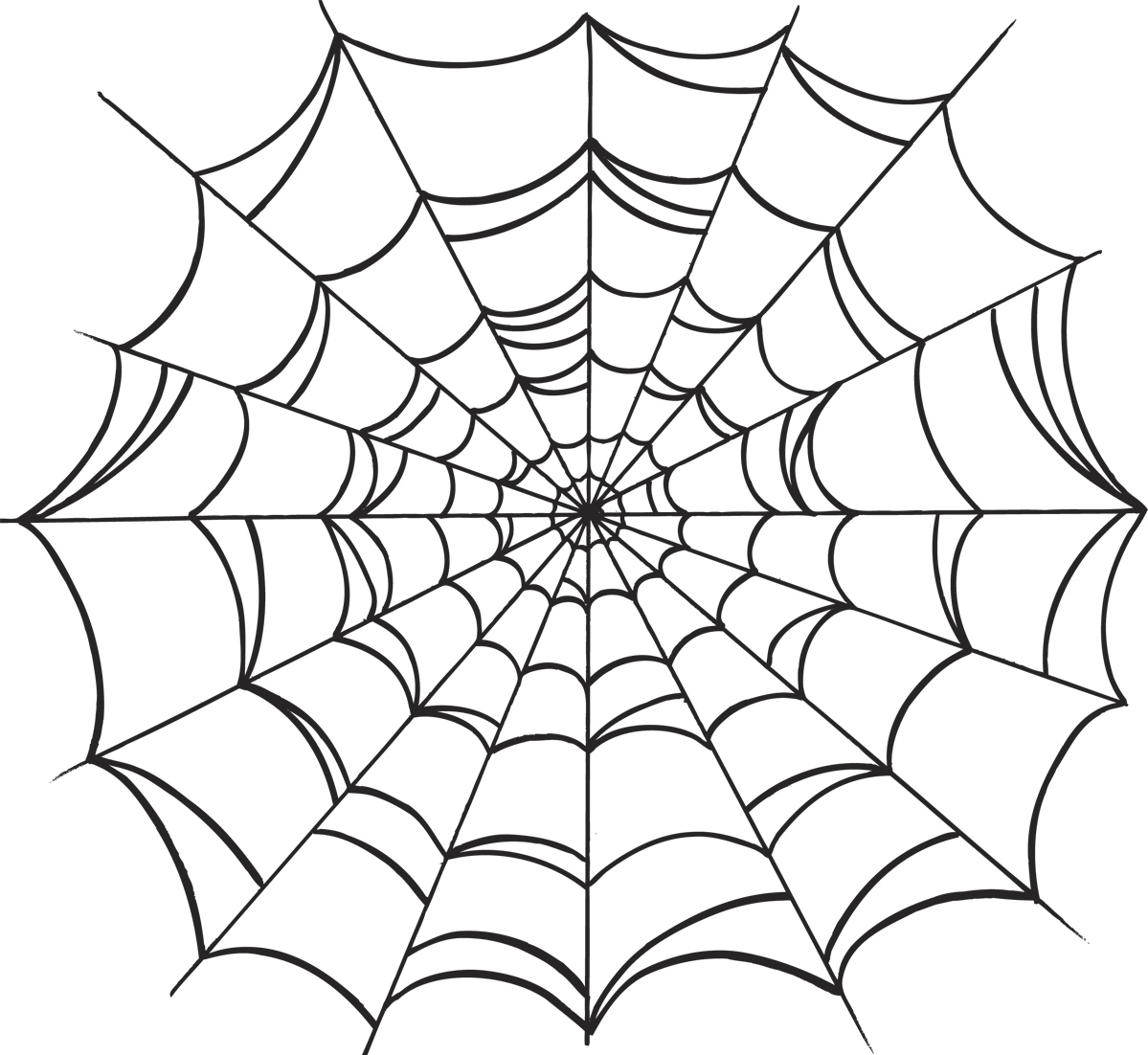 1199x1102 Drawing Of A Spider Web How To Draw A Simple Spider Web