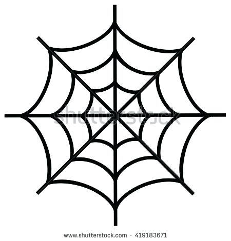 Simple spider web drawing at free for for Easy drawing websites